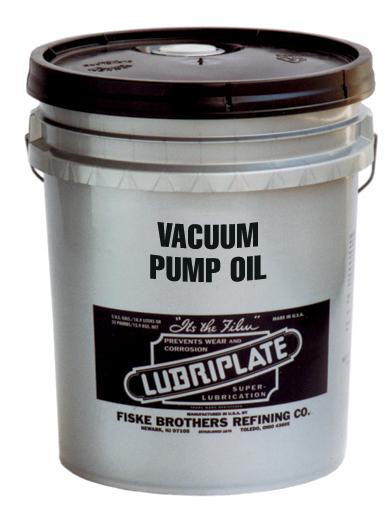 LUBRIPLATE VACUUM PUMP OILS